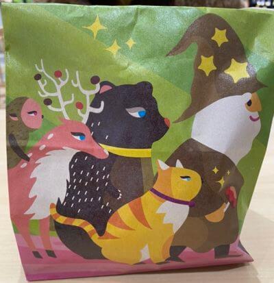 ベイクドマジック富山ファボーレ店の包装