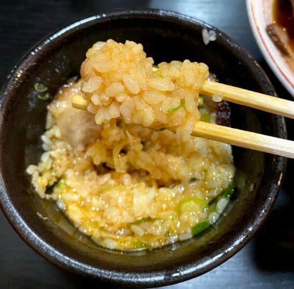 五衛門の卵かけご飯