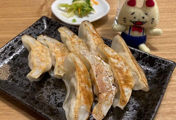 八まん亭の餃子単品
