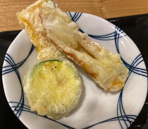八まん亭の天ぷら