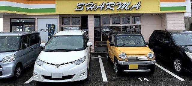 シャルマの駐車場