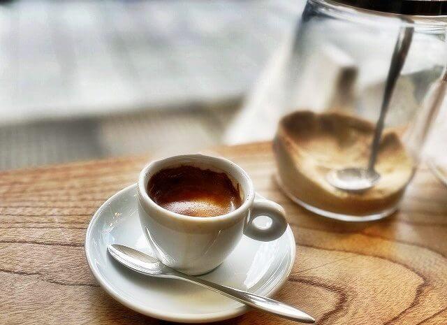 SIXTH OR THIRDのコーヒー