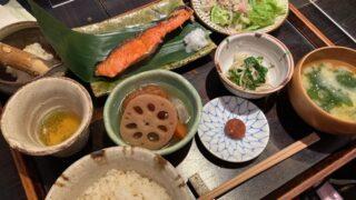 たま氣の鮭定食