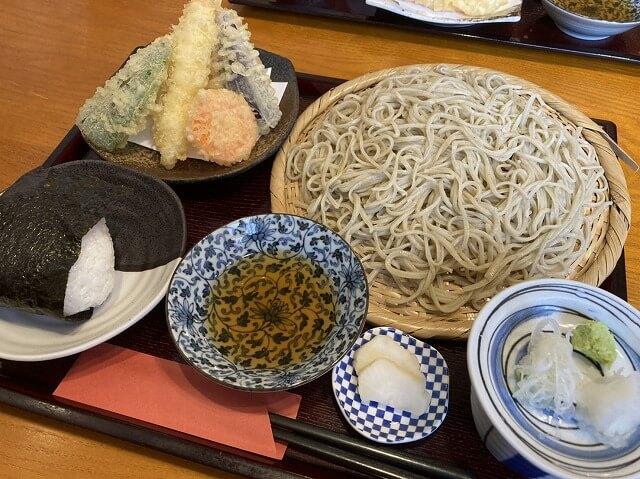和み蕎たつの蕎麦セット