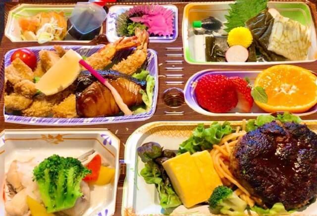 越州の弁当テイクアウト