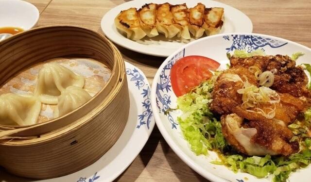 バーミヤン二口店の中華料理