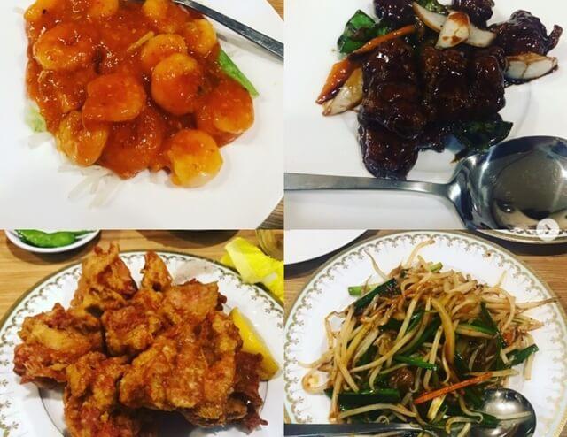 大連飯の中華料理