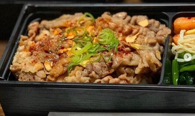 牛角(富山市)の焼肉弁当