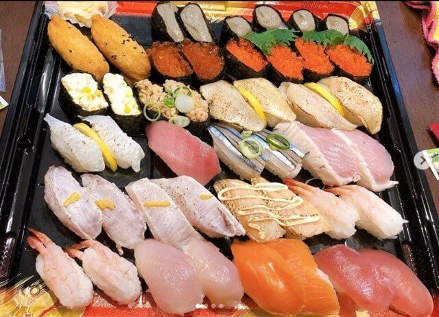 はま寿司のテイクアウト