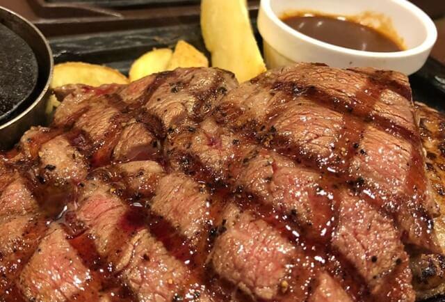 ステーキガストのステーキ