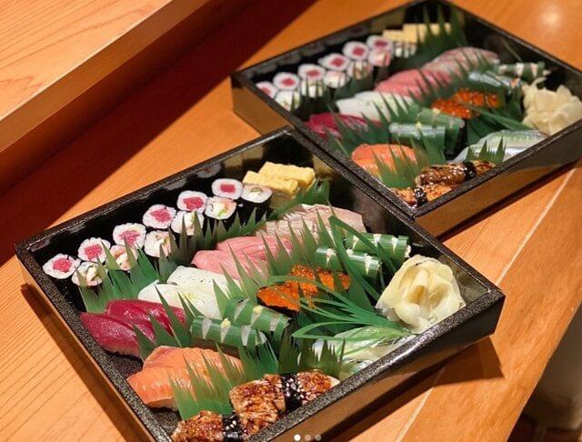 寿司栄のテイクアウト