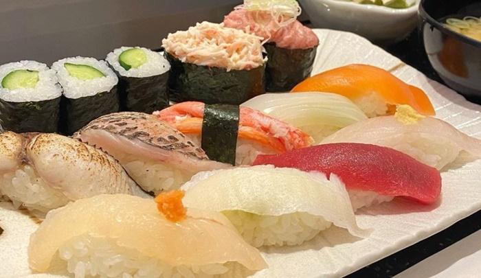 回転寿司 とらふぐの寿司
