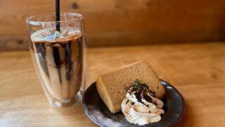ミクトのコーヒーとシフォンケーキ