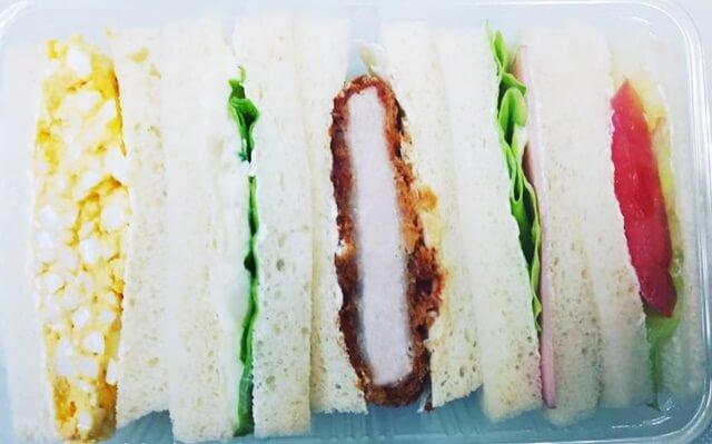 パンオーレのサンドイッチ