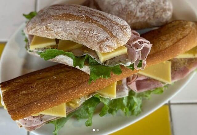 ロゼッタのサンドイッチ