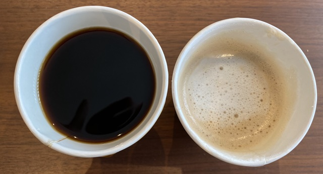 アルパカ珈琲婦中のコーヒー