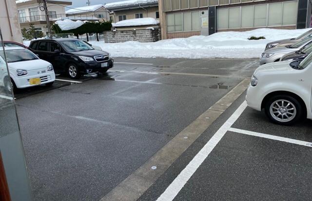 かれー屋伊東の駐車場