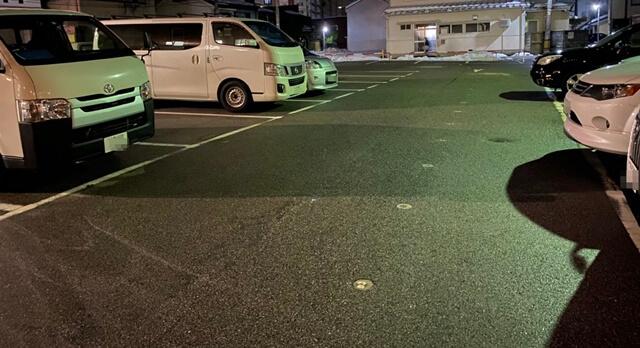辛子家の駐車場