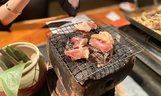 2代目赤鍋屋の炭火焼き鶏