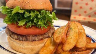 ファンタイムのハンバーガー