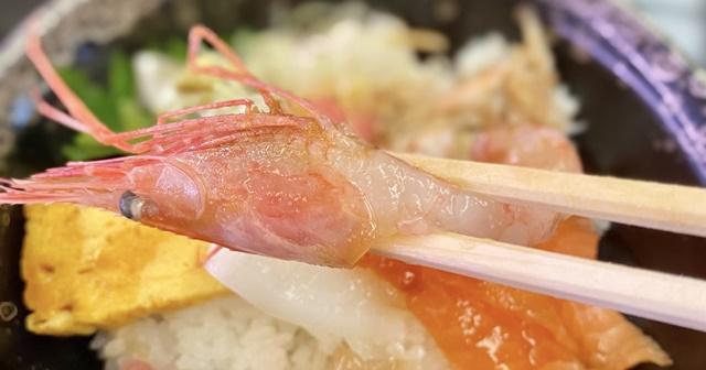 氷見 きときと寿し 婦中有沢店のランチの海鮮丼
