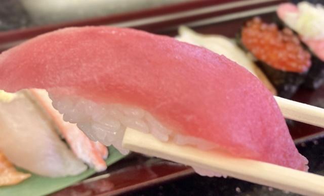 氷見 きときと寿し 婦中有沢店のランチの寿司