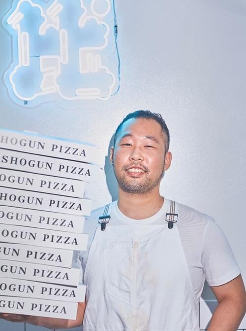 SHOGUN PIZZAのシェフ