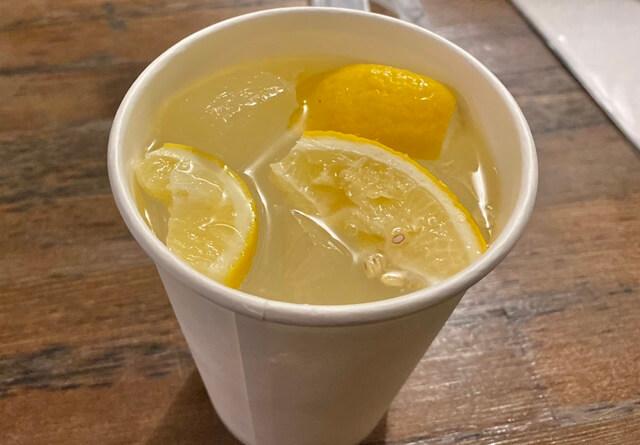SHOGUN PIZZAのレモンサワー
