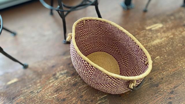 アルパカコーヒー太郎丸店のバスケット