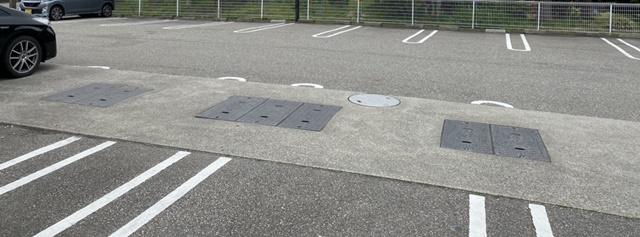 番やのすし古沢店の駐車場