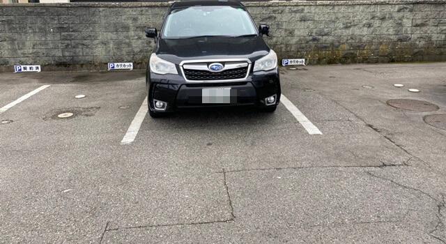 カリカットの駐車場
