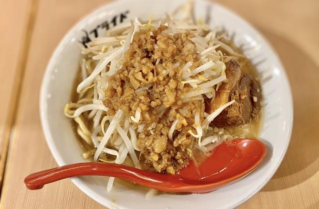 麺バル プライドのガッツリ!豚ラーメン