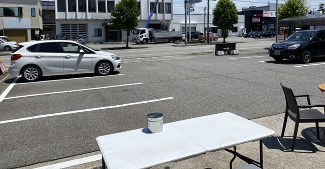 モカモカ ソフトクリームの駐車場