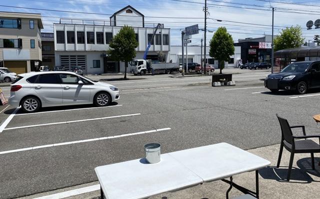 ぷちロールの駐車場