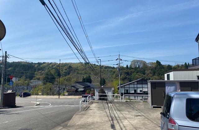 山元食堂から見える景色