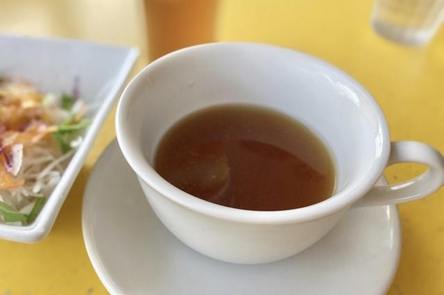 カフェ ヴェルデのランチセットのスープ
