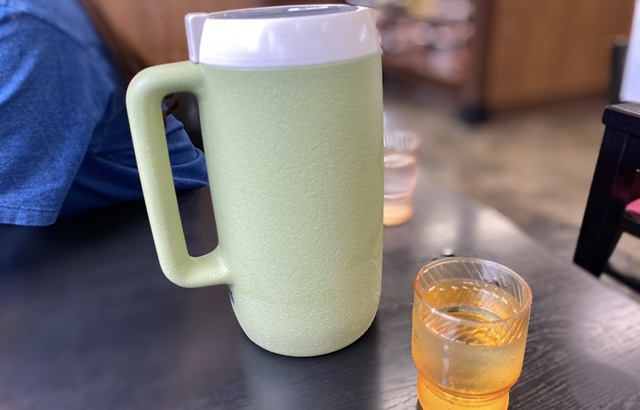 ダルマヤラーメンの水