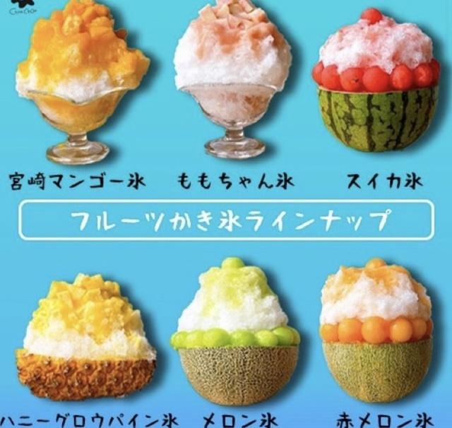 フルーツサンド シュシュ 富山本店のかき氷