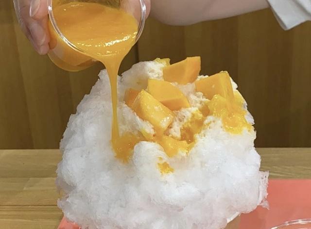 ハナのかき氷