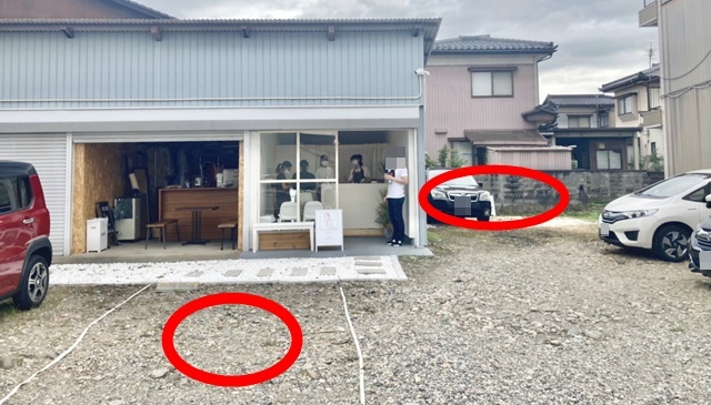 hitsujiの駐車場