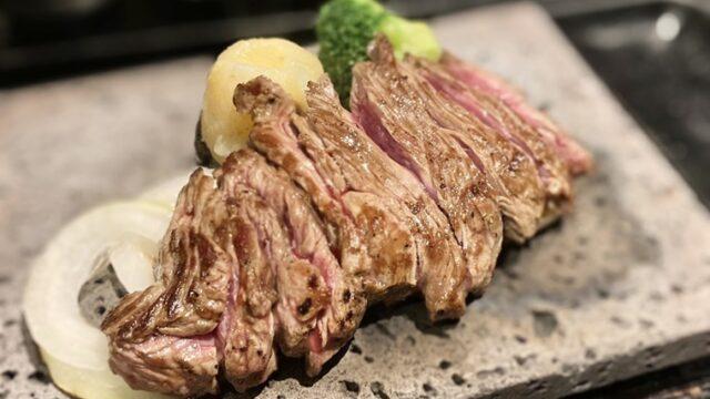 ステーキ 贅 富山西店のステーキ
