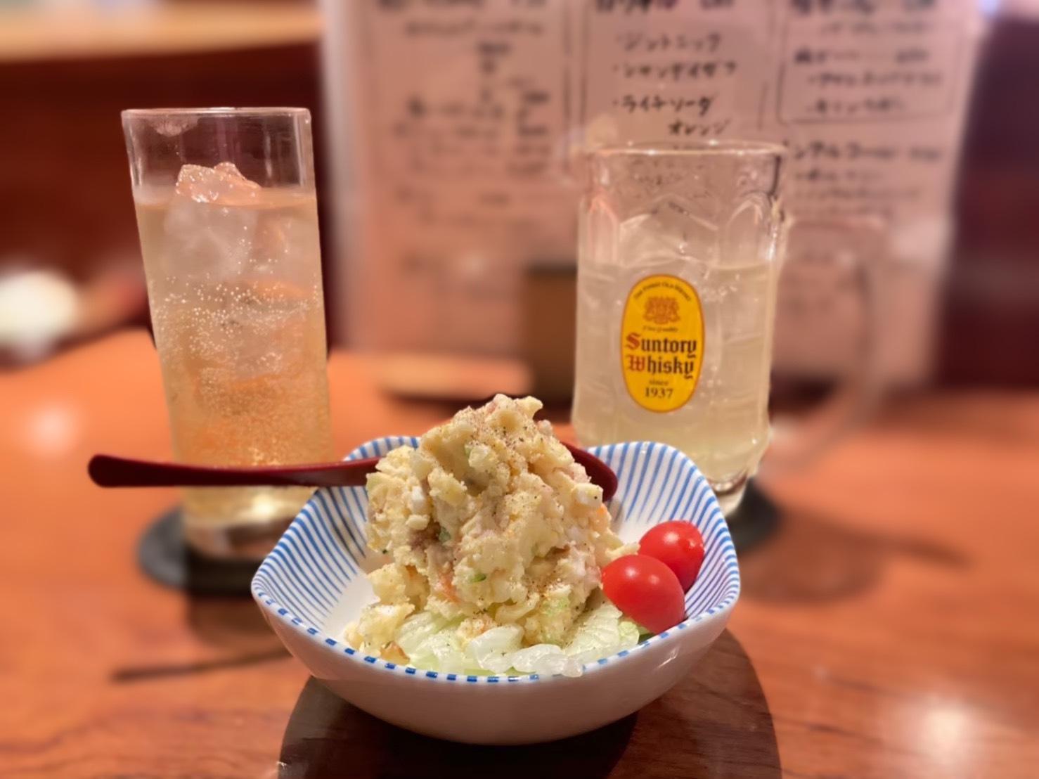 串もん家 楽(らく)のポテトサラダ