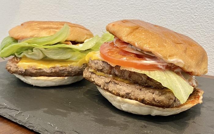 ウェンディーズ 富山ファボーレ店のハンバーガー