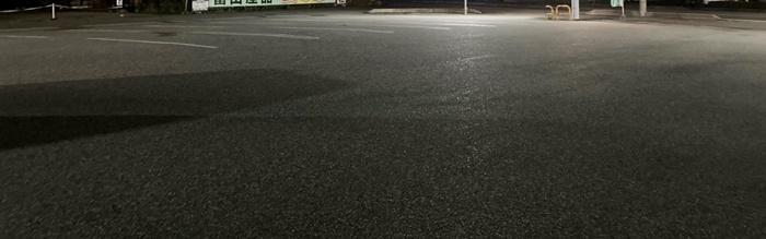 8番ラーメン富山安養寺店の駐車場