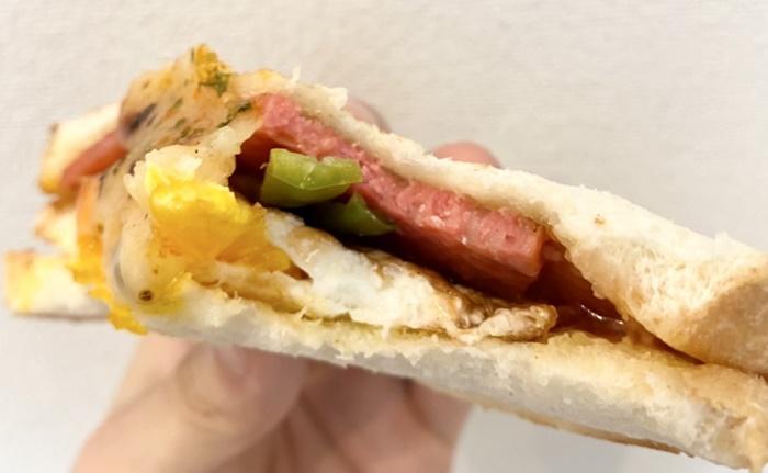 BiBi.t(ビビット)のピザ風サンドイッチ
