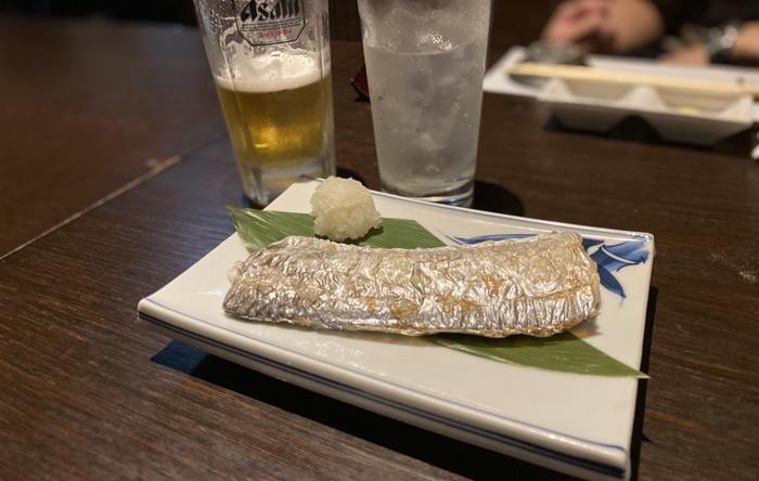 寿司居酒屋 こざるの焼き魚