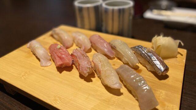寿司居酒屋 こざるの寿司
