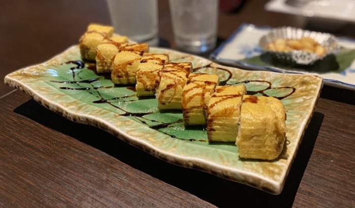 寿司居酒屋 こざるの玉子焼き