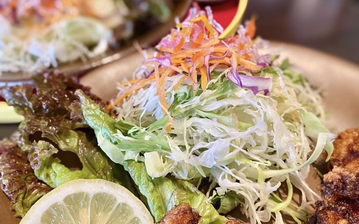 食堂 MARUKOのサラダ