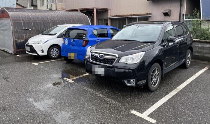 食堂 MARUKOの駐車場